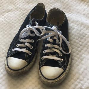 Black White Converse Sz 8